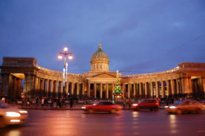 New Year's Eve in Saint Petersburg